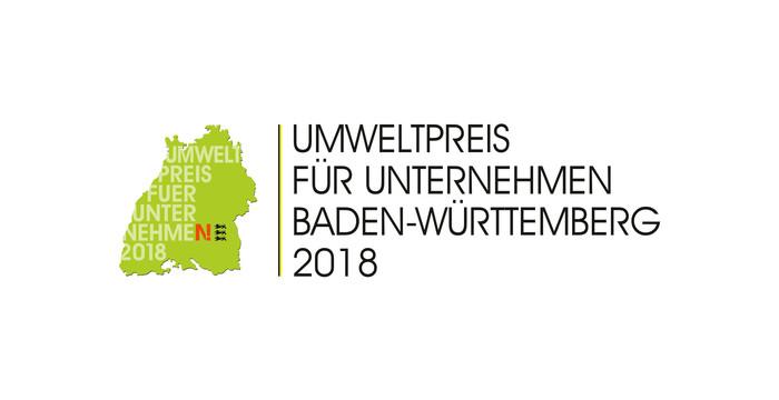 Logo Umweltpreis für Unternehmen Baden-Württemberg 2018
